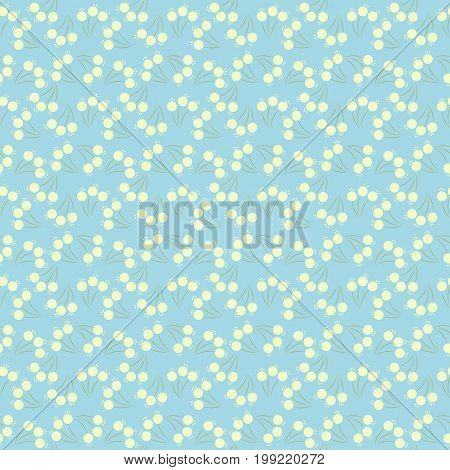 Cute Floral pattern in the small flower. Ditsy print. stock photo