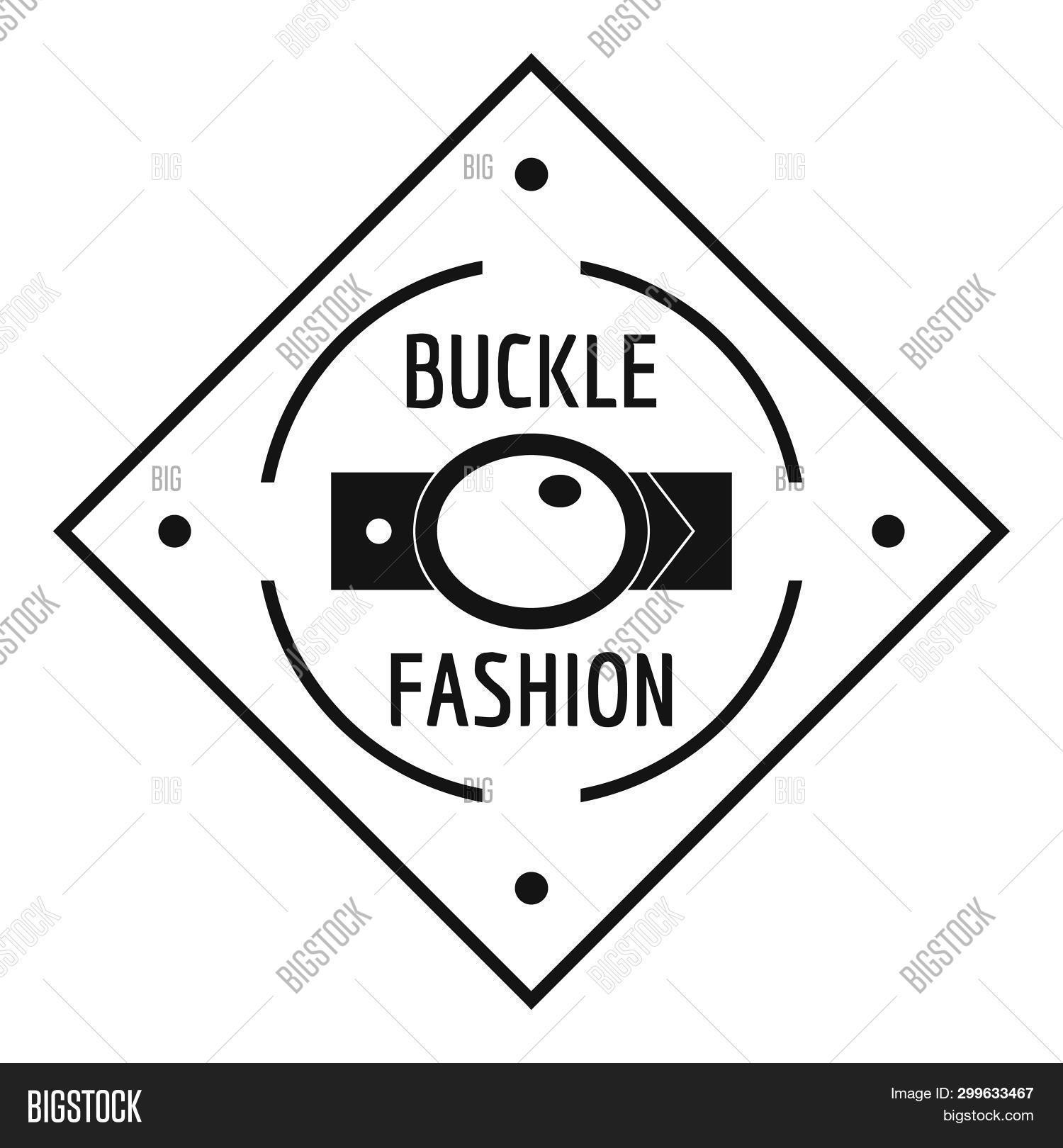 Buckle Chrome Logo. Simple Illustration Of Buckle Chrome Logo For Web