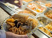 Chinese Food And Restaurant Buffet Pans